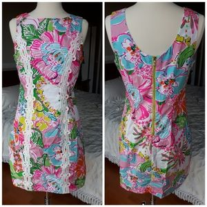 Lilly Pulitzer Nosey Posey dress shift New